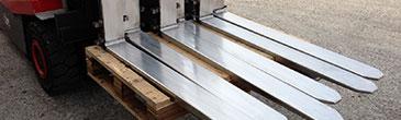 Metalmeccanica Saleri produktion von gabelzinken für gabelstapler