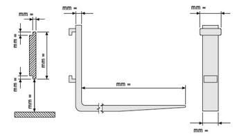 Produktion ante fem-gabelzinken für gabelstapler